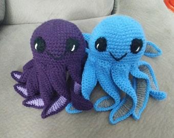 Stuffed Octopus