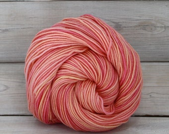 Aspen Sport - Hand Dyed Superwash Merino Wool Sport Yarn - Colorway: Sorbet