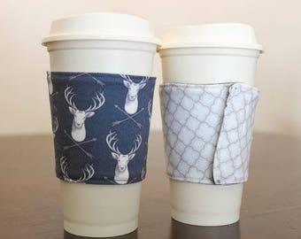 Elk and Arrows Coffee Sleeve
