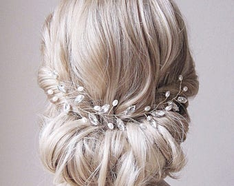 Hair vine,Bridal headpiece, bridal hair vine,bridal hair comb,wedding hair comb,wedding headpiece