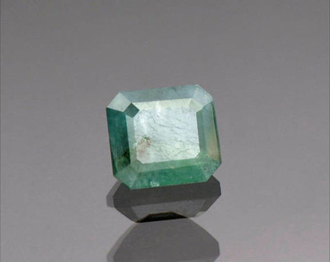 Rare Blue Green Grandidierite Gemstone from Madagascar 2.11 cts.