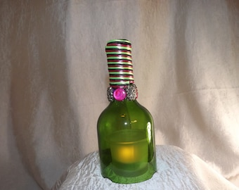 Votive Glass Decor 6""