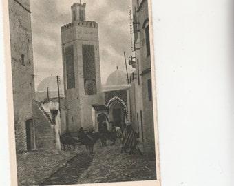 Tetuan Morocco Sidi-Saidi Mosque 1920 Postcard