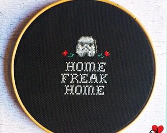 """Frame """"Home Freak Home"""" Stormtrooper"""