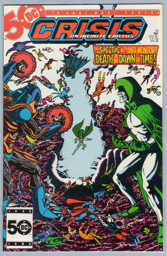 Crisis on Infinite Earths 10 Jan 1986 NM- (9.2)