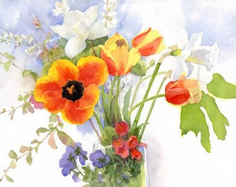 Spring Flowers - Archival Print