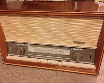 SABA Freudenstadt stéréo Vintage Tube Radio Allemagne
