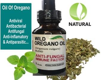 OIL of OREGANO 1oz anti fungal Mediterranean wild non GMO 86% carvacrol high grade inmune factor