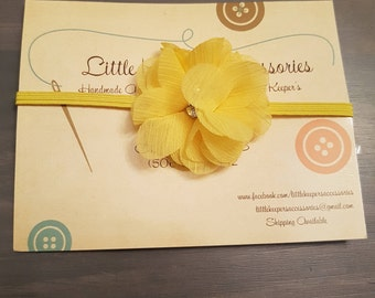 Sunshine mini flower band
