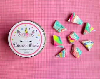 "American Food 18"" Girl Dolls Unicorn Candy: Rainbow Chocolate Tin Unicorn Candy Accessory Miniature Dessert for AG Doll Bakery Sweets Shop"
