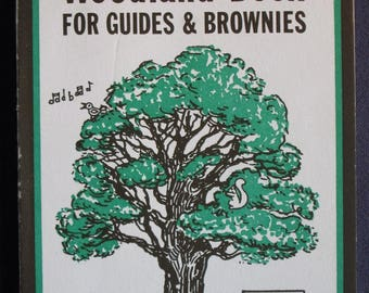 The Woodland Book for Guides and Brownies by Brenda Morton - trees, girl guides