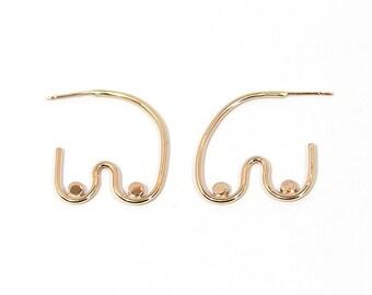 MELOPEPO Boobie Earrings