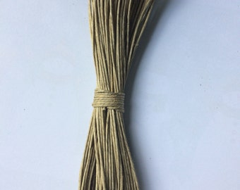 Hemp cord for crafts and jewelry making