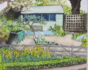 Allotment in Spring