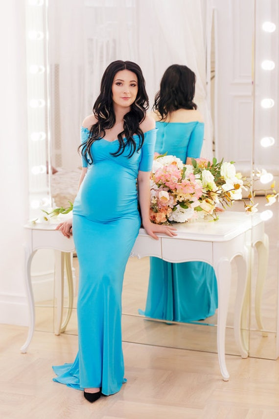 Baby Shower Dress for Pregnant Women