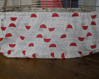 Large Bird cage tidy cover