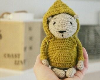 Luipold ** Amigurumi Häkel Anleitung PDF Teddybär Sprachen: Deutsch und Englisch