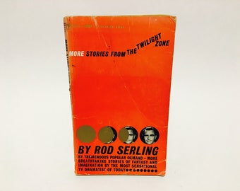 Vintage Sci Fi Book More Stories from The Twilight Zone by Rod Serling 1961 Paperback Anthology
