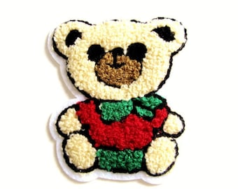Patch Teddy bear sewing 85 x 78 mm