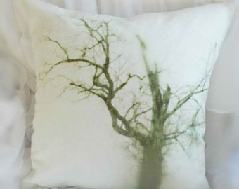 Hauntingly Beautiful Tree Romantic Pillow Case Print Cover Bed Photo Print
