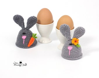 Easter bunny Egg cozy Spring table decor Easter gift Kitchen decor Egg warmers Easter decorations Easter egg hat  Egg cosy Easter egg cover