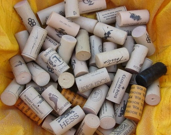 Wine Corks 100 Used Synthetic PSS 1728