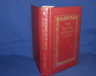 A CONNECTICUT YANKEE in King Arthur's Court by Mark Twain 1985 BANTAM The Greatest Historical Novels