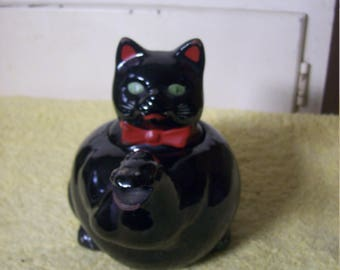Vintage Shafford Black Cats Teapot Made in Japan