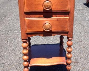 Vintage JB Vansciver Nightstand End Table