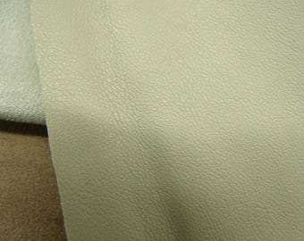 LEATHERETTE fabric, leatherette, 145 cm, beige, for clothing, skirt, pants, or cover an object
