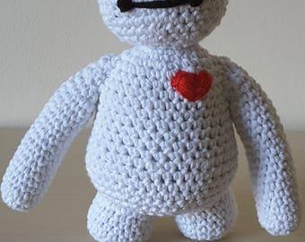 Disney Inspired 'Baymax' from Big Hero 6 - Crochet Pattern Only