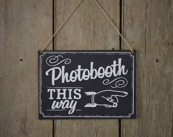 Vintage Photobooth sign