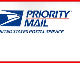 Priority Mail Upgrade on Shipping