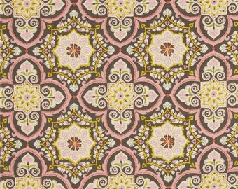 Josephine Kimberling for Blend Fabrics Turkish Delight Grandeur Tile Pink (Half metre)