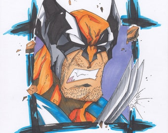 Print- Wolverine