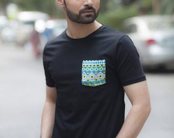 Enchanting Black Organic Cotton T-Shirt