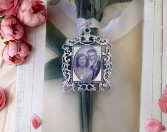 Wedding bouquet remembrance charm I will do your photo!