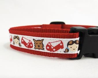 Small Dorothy Dog Dog Collar