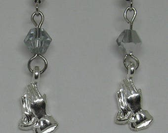 Praying Hands Earrings E127