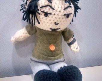 Crochet Trent Lane Doll - Daria