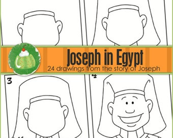 JOSEPH IN EGYPT I Can Draw Book