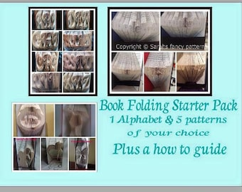 Half Price Sale - Book Folding Starter Package
