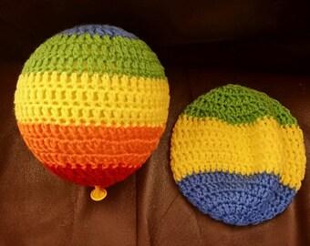 Crochet Balloon Ball/ Balloon Cover