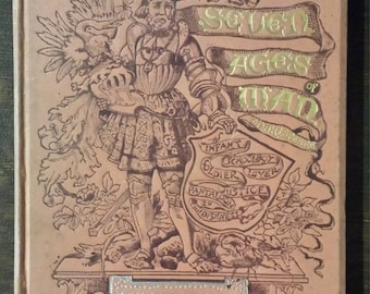 """1884 Illustrated edition of The Seven Ages of Man from Shakespeare's  """"As You Like It"""""""