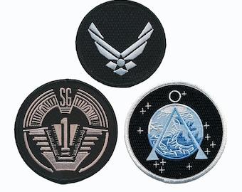 Stargate SG-1 3PC Iron On Patch Set