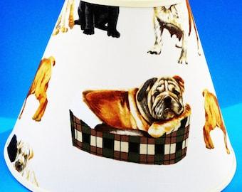 Bulldog Lamp Shade