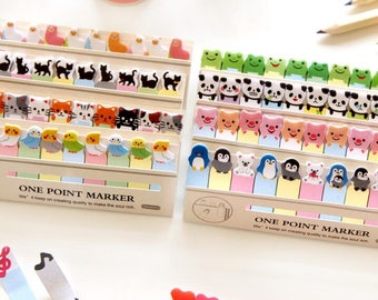 Mini Animal Sticky Post it Notes / 10 designs