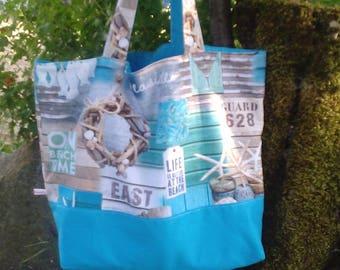Beach bag, cotton tote bag