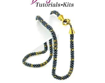 Egyptian Gold Necklace beadweaving Kit