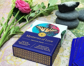BRAND NEW: Mystery of Love Oracle Deck + Guidebook